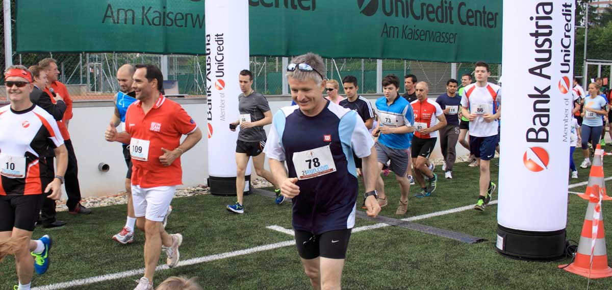 BA Charity Lauf